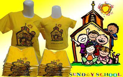 Kaos Komunitas : Sekolah Minggu Sunday School - Jual kaos couple, kaos custom, kaos anak, kaos dewasa, kaos souvenir ulang tahun, kaos event, dll SMS / WA : 087880741923, PIN BB : 228CCF29