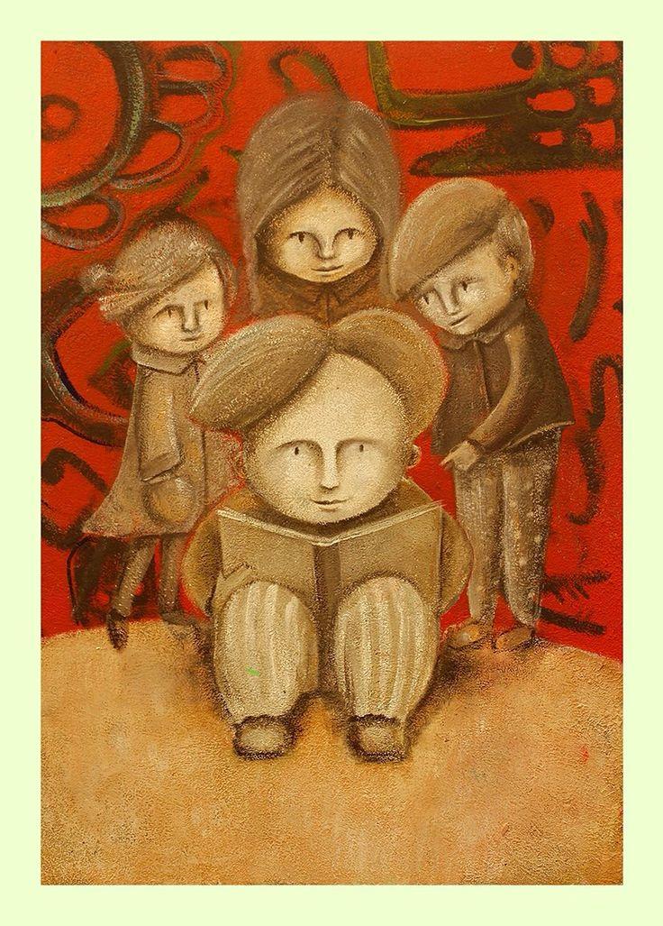 Cartel seleccionado  en la 35 Feria Internacional del Libro  Infantil  y Juvenil filij