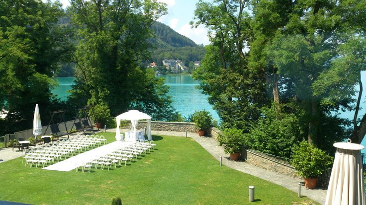 Hochzeit Klagenfurt Schloss Maria Loretto Feine Küche Kulterer, Pavillon www.help-org.at