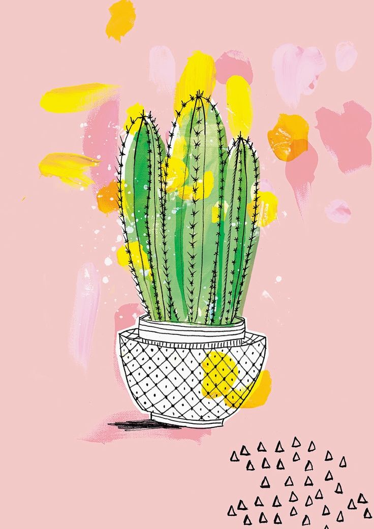New work - My Favourites - Cactus by Paula Mills for sweet william