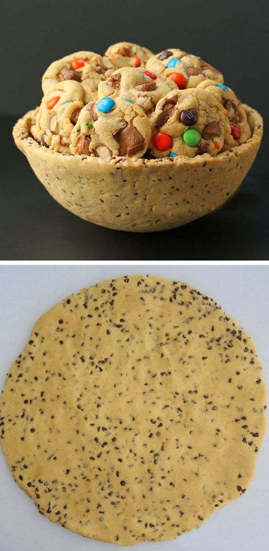 Chocolate Chip Cookie Serving Bowl | Click Pic for 22 DIY Fathers Day Gift Ideas from Kids to Dad | DIY Gift Ideas for Him