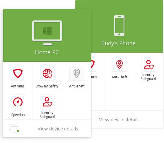 Avira Online Essentials – our online dashboard for mobile