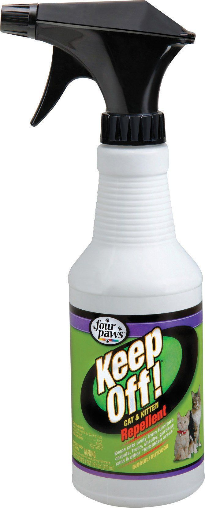Four Paws Products Ltd-Keep Off Indoor-outdoor Cat & Kitten Repellent 16 Oz. Spray