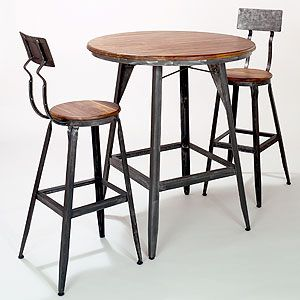 Hudson Pub Collection - table $279.99 | Sale: $223.99;  chair $139.99 Sale: $111.99  TOTAL $447.97 for table and 2 stools