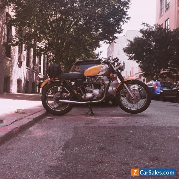 1972 Triumph Bonneville #triumph #bonneville #forsale #canada