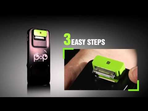 PoP Video peripheral turns iPod touches and iPhones into pico projectors.