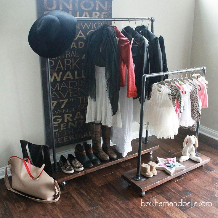 beckham belle mommy u0026 me diy wardrobe racks