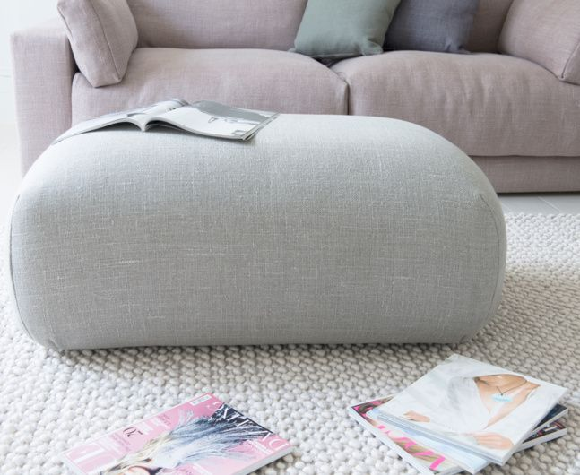 Loaf's Doughball footstool is sweet, unassuming and as comforting as a mug of hot chocolate in front of a log fire. Your new best mate for nights (and days!) in.