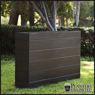 Madera Fiberglass Commercial Planter 48in.L x 18in.W x 18in.H