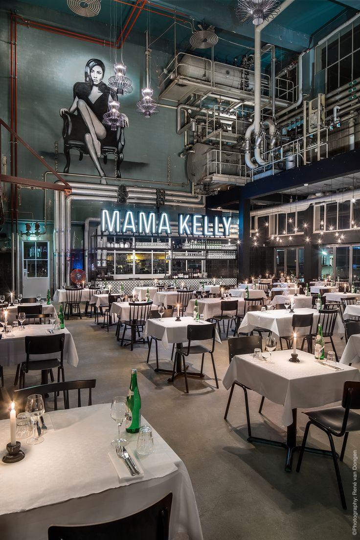 MaMa Kelly The Hague (Netherlands). Design  by Rein Rambaldo (De Horeca Fabriek) www.dehorecafabriek.nl