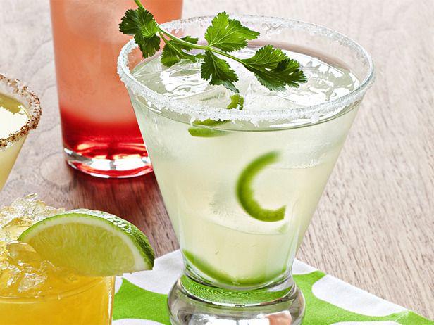 Jalapeño MargaritaCups Fresh, Food Network, Foodnetwork Com, Lime Juice, Adult Beverages, Jalapeno Margaritas, Margaritas Recipe, Margarita Recipes, Jalapeño Margaritas