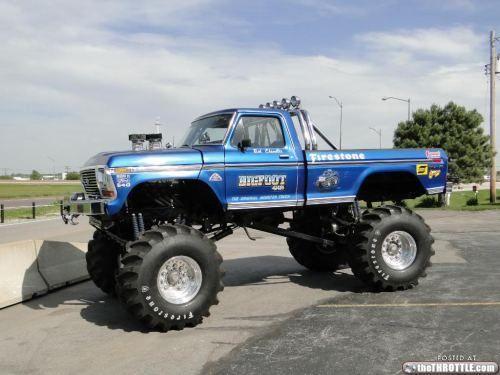 Big Ford Trucks   bigfoot truck 14 Bigfoot: The Original Monster Truck (16 Photos)