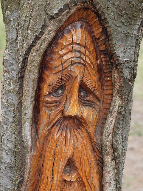 Images about a carvings native wood spirits on