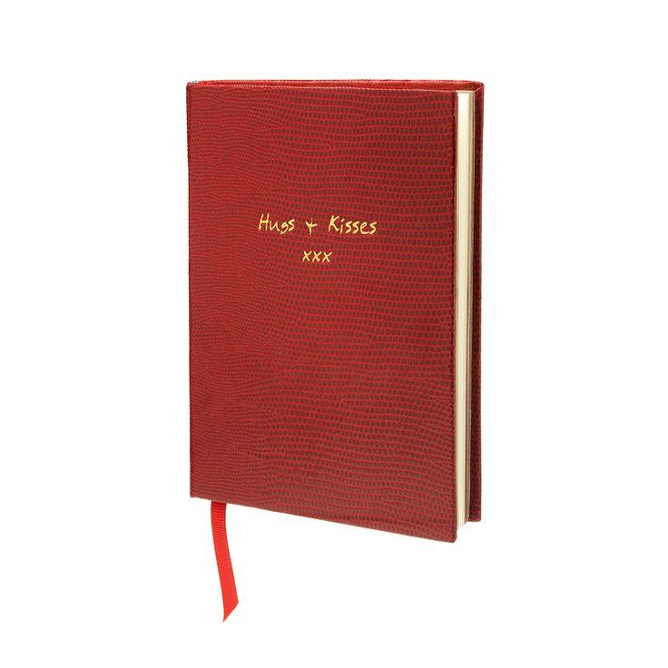Hugs and Kisses Notitieboekje. Niet vergeten af en toe iets liefs op te schrijven. Voor jezelf, je beste vriendin, je kind, je man een hug & kiss te sturen.