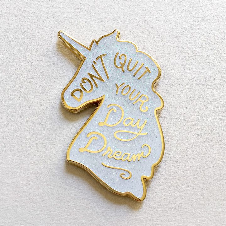 Unicorn Day Dreams Lapel Pin