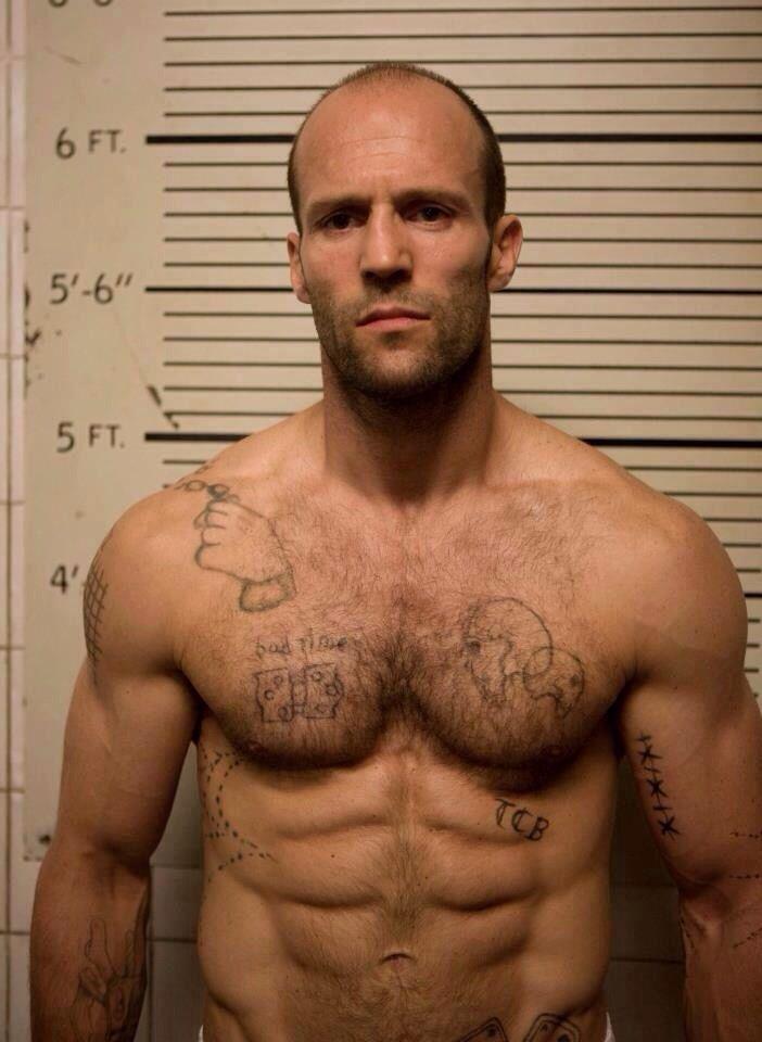 Jason Statham - Tattoos❤️