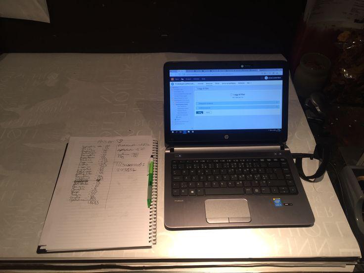 2.11.17 Jeg har jobbet med prisliste og fått masse hjelp, jeg ble ferdig og regnet ut prisene.