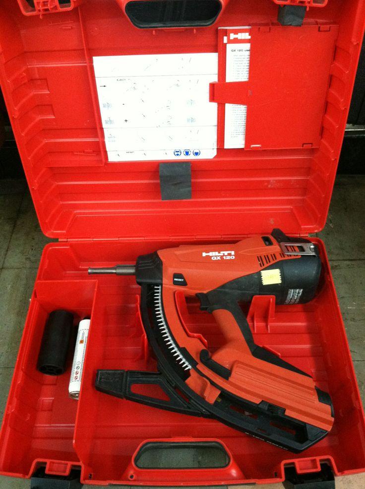 Hilti GX120 gas actuated nail gun 399.95 Tools and