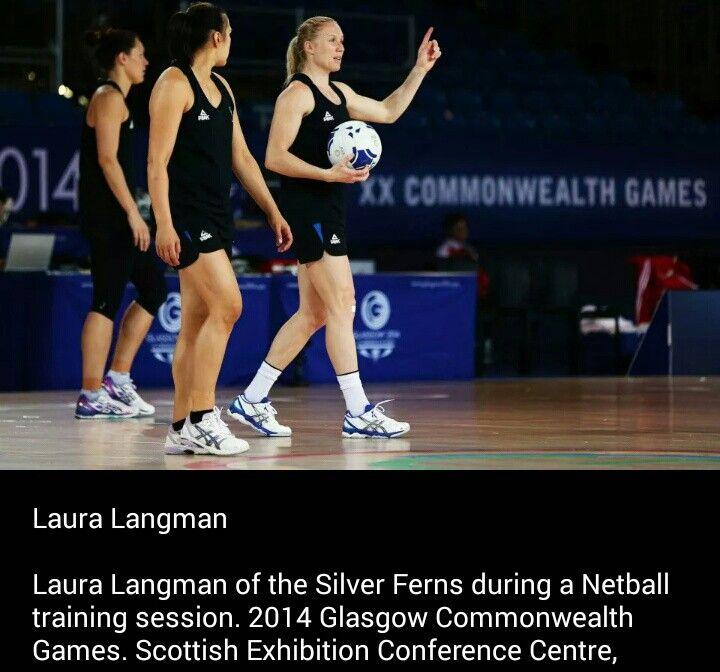Laura Langman New Zealand Netball Commonwealth Games 2014