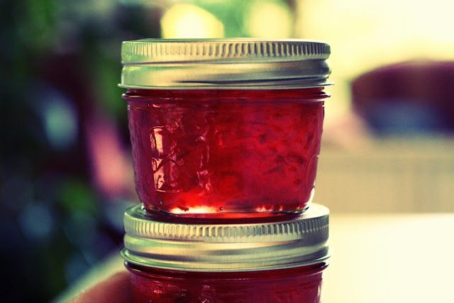 Gelée de piments rouges