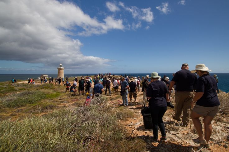Dirk Hartog commemoration at Cape Inscription