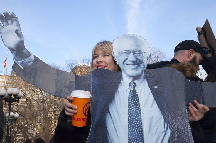 The Wild Homemade Signs of Bernie Sanders Supporters