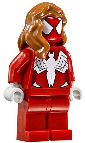 LEGO Marvel Super Heroes Spider Girl Minifigure 76057 Woman:   LEGO Marvel Super Heroes Spider Girl Minifigure 76057 Woman