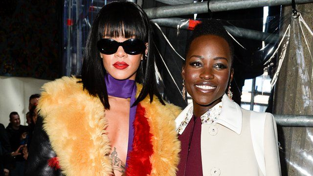 Rihanna and Lupita Nyongo to Star in Ava DuVernay-Directed Film   Rihanna and Lupita Nyongo to star in Ava DuVernay-directed film that started with an Internet meme  An internet post has caused a fan-desired film to happen. According to EW the online campaign to make a film based on a Tumblr post of Lupita Nyongo (Star Wars: The Force Awakens) and Rihanna (Annie) at a fashion show in 2014 was successful. The photo was posted on Tumblr by elizabitchtaylor which said They look like theyre in a…