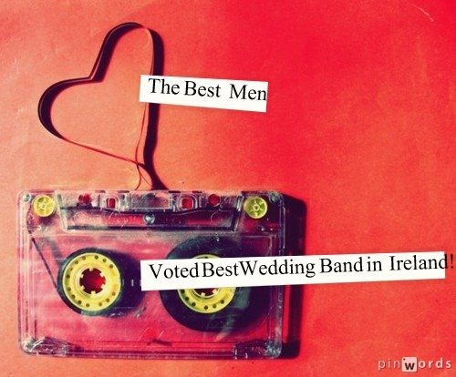 Check out our website for all the low-down! - http://www.thebestmen.ie/