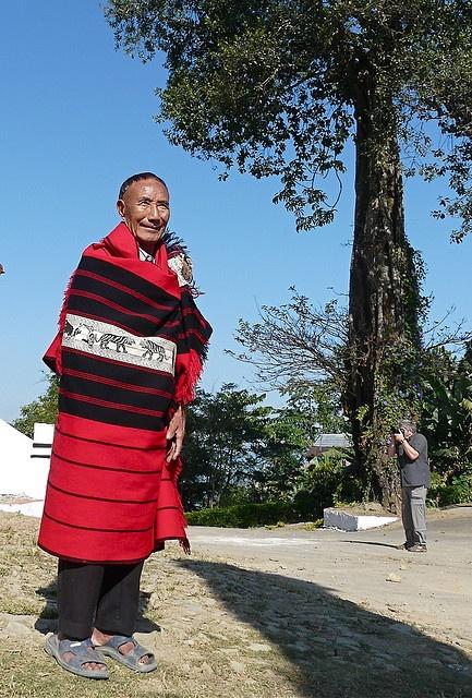 ethnic Naga people