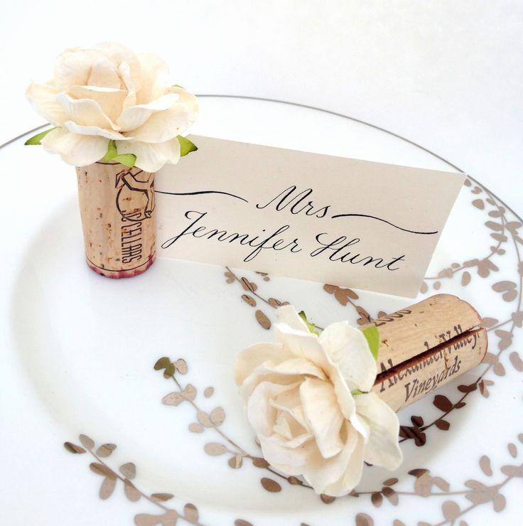 Best 25+ Cork place cards ideas on Pinterest   Wedding ...