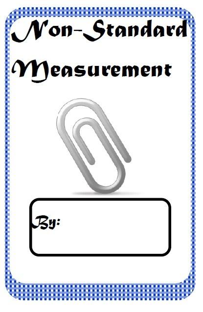 non standard measurement booklet free resources from raki 39 s rad resources classroom freebies. Black Bedroom Furniture Sets. Home Design Ideas