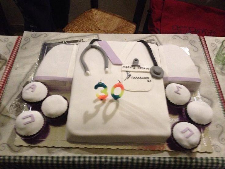 hospital t-shirt birthday cake
