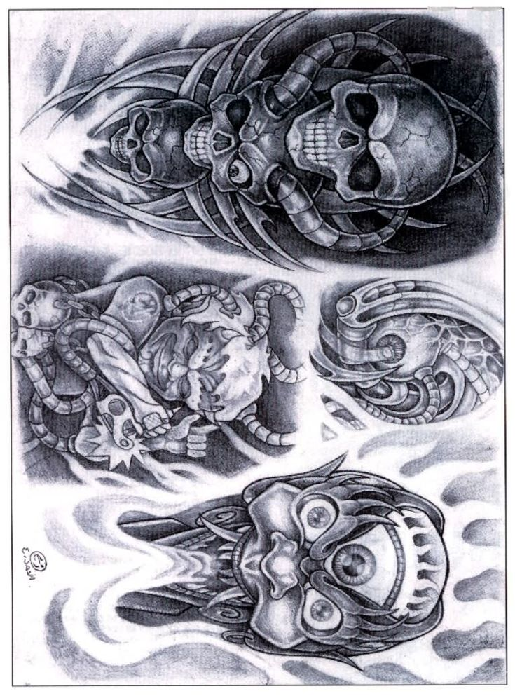 biomechanical alien tattoo designs. Black Bedroom Furniture Sets. Home Design Ideas