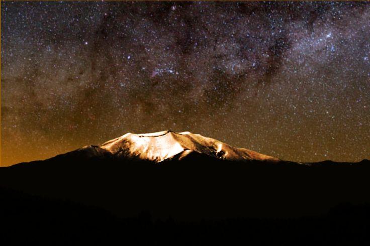 Vía Láctea en Puracé