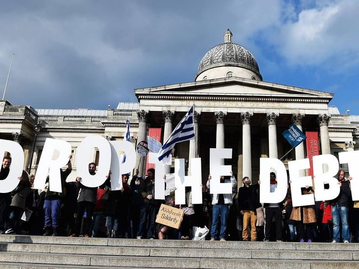 10th July 2015  The amount is more than a third of Germany's GDP and bigger than Greece's entire economy JON STONE   Tuesday 07 April 2015 The Greek government has demanded that Germany pays it bac... Greece wants Germany to repay €279bn it was forced to loan the Nazi authorities during WWII http://winstonclose.me/2015/07/10/greece-wants-germany-to-repay-e279bn-it-was-forced-to-loan-the-nazi-authorities-during-wwii-written-by-jon-stone/