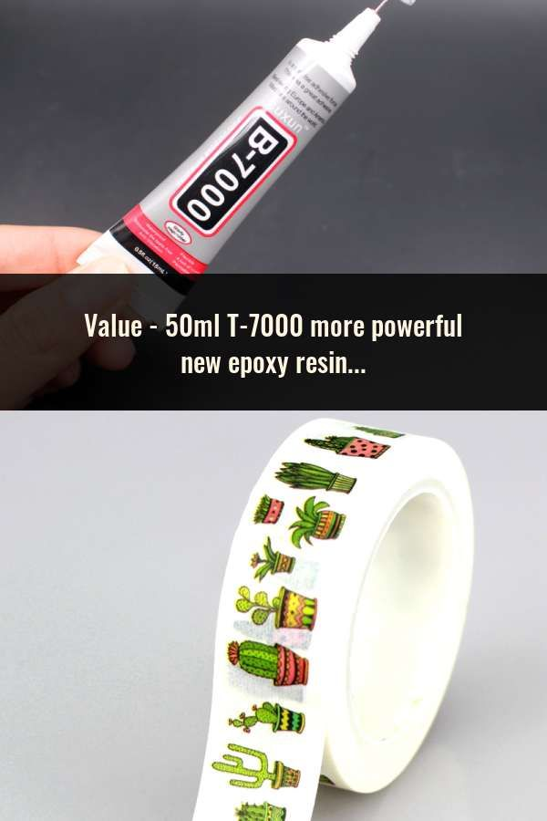 50ml T-7000 more powerful new epoxy resin adhesive T7000 black