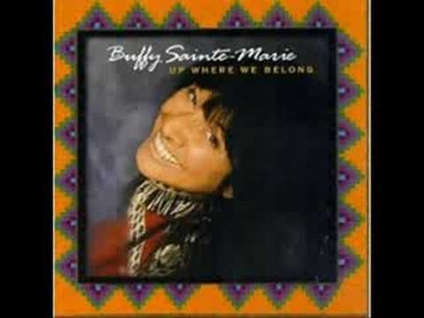 Buffy Sainte-Marie - Universal Soldier, she wrote this song and many many more. Love you Buffy