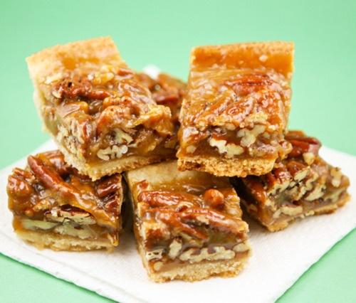 Caramel Pecan Squares Recipes — Dishmaps