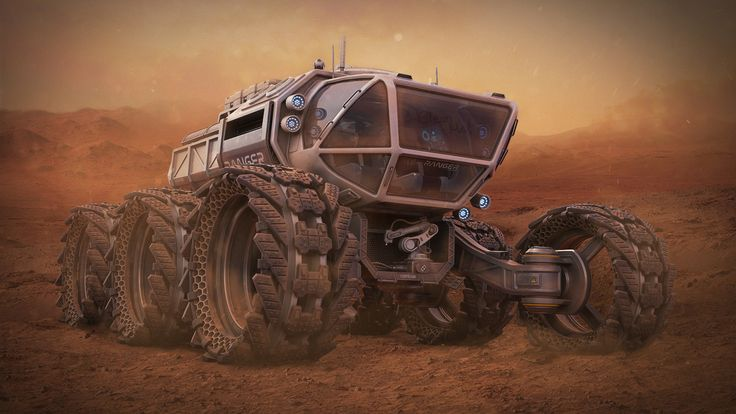 The Mars Ranger, Mathew O on ArtStation at https://www.artstation.com/artwork/QyyW4