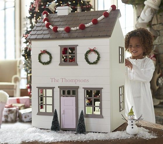 Westport Dollhouse White | Pottery Barn Kids just bought for Lucy and I can't wait to see her face :)