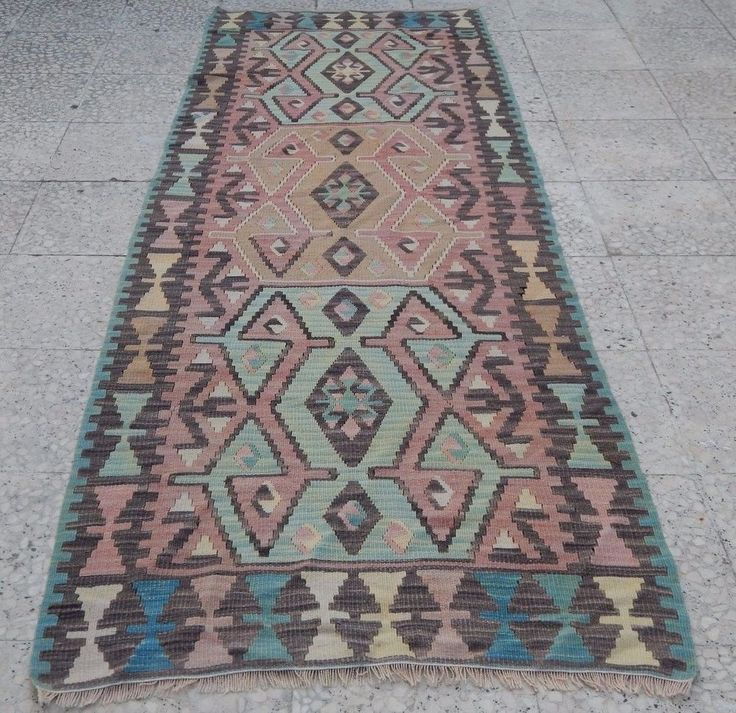 Kitchen Runner, High Quality Turkish Oushak Kilim Rug Runner for Hallway 2.9x7.6 #Turkish