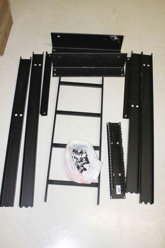 "Black Box RM8042A-R2 Universal Server Cabinet - Rack - 42U - 19"" parts  #BlackBox"