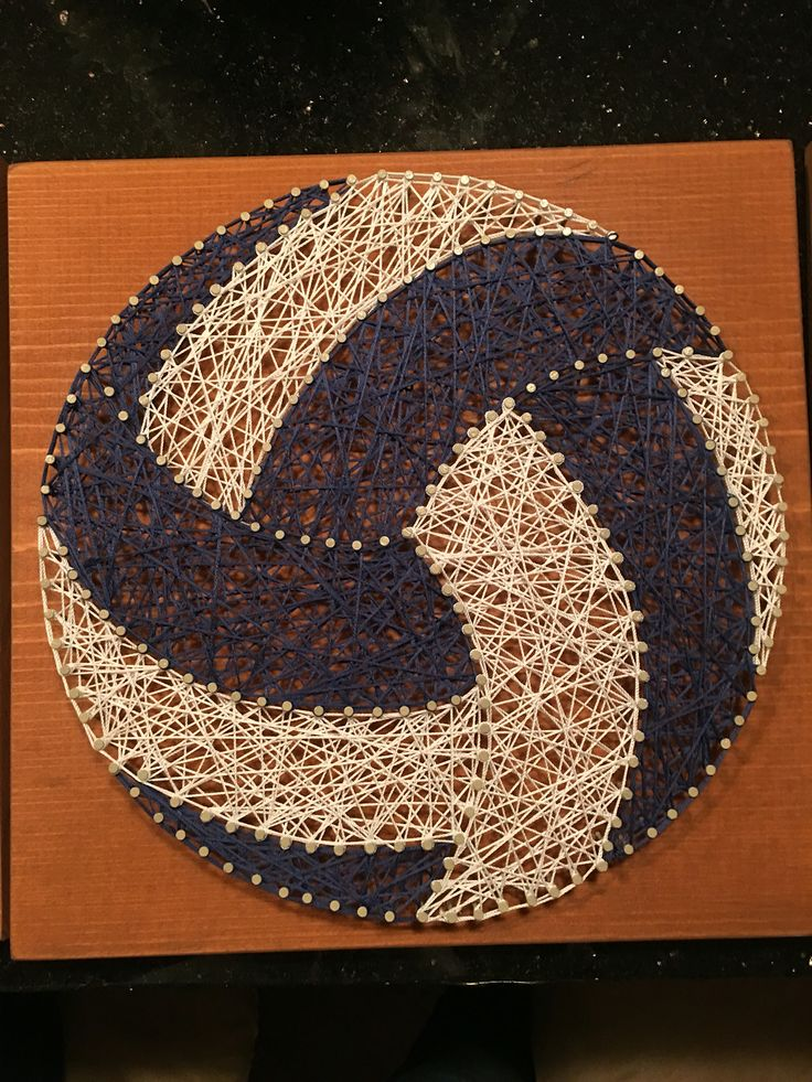 String Art Volleyball