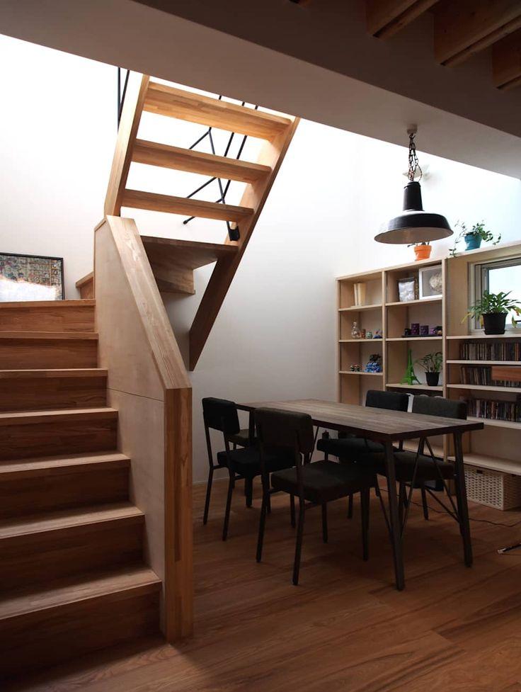 鎌ヶ谷の住宅: アトリエハコ建築設計事務所/atelier HAKO architectsが手掛けたダイニングです。