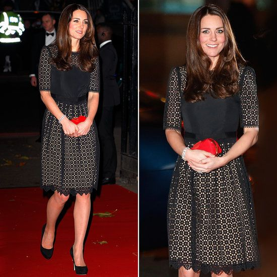 Much more machine-made than handmade, but I will say Kate Middleton's Temperley dress definitely has the look of lace crochet (November 2013)