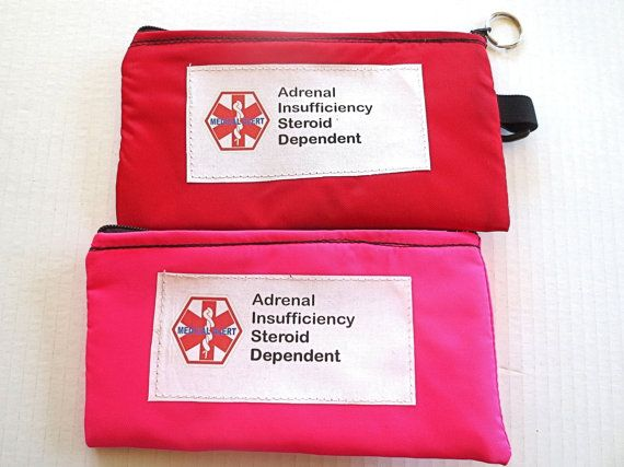 Insulated Addison's disease adrenal by racheltreasures on Etsy