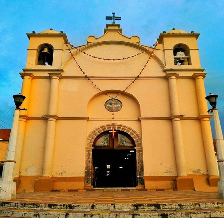 Iglesia de Nuestra senora de Candelaria, Chiantla. Guatemala.