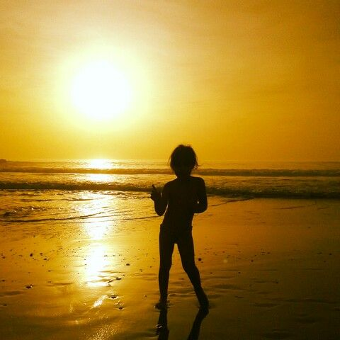 Sunset, praia do cds.