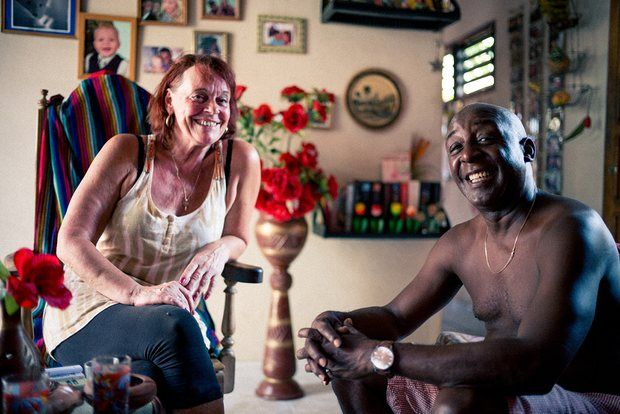 Mara and Bernardo, who run Casa El Tulipan, Trinidad, Cuba.